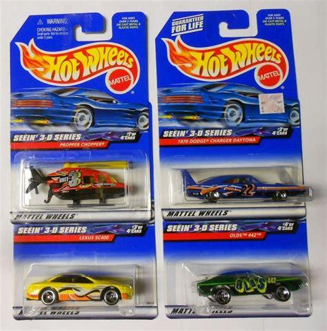 Wheels Lexus Sc400 Wagons 2003 Hotwheels wheels 2000 seein 3 d 4 car set w olds 442 daytona