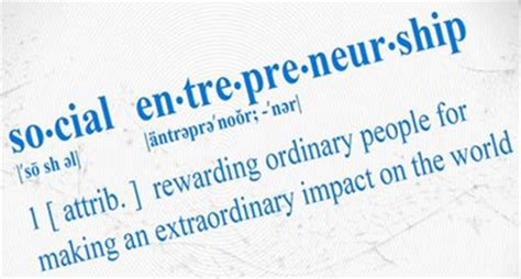 Social Enterprise Best Mba by Top 5 Reasons To Become A Social Entrepreneur