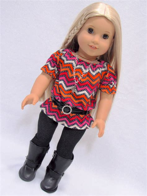 American Handmade Clothes - handmade doll clothes fits american doll trendy back to