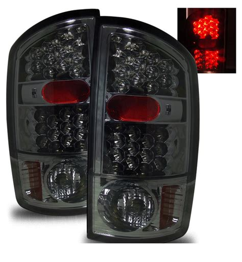 ram led tail lights 02 06 dodge ram 1500 2500 3500 euro led tail lights