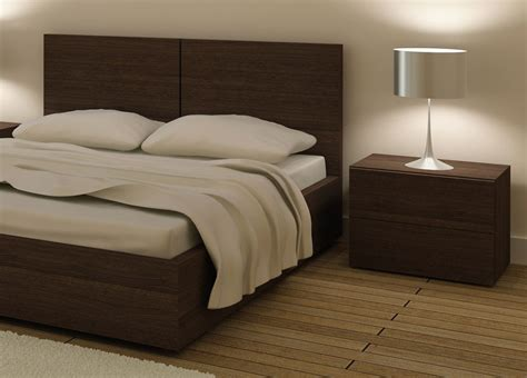 storage contemporary design double bed aura bed
