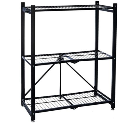 Wheel Shelf by Pop It 3 Tier Collapsible Storage Shelf With Wheels Page