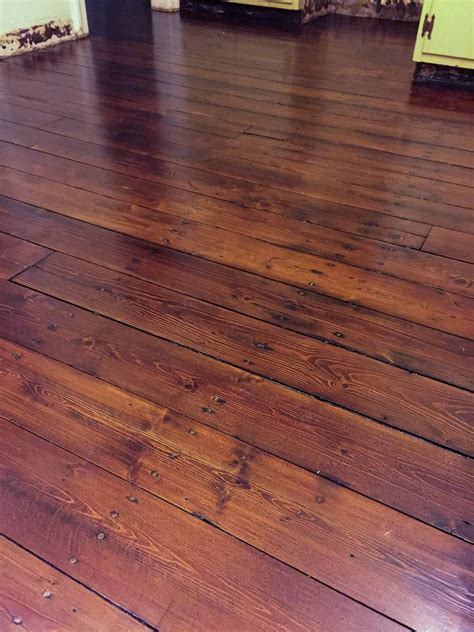 refinishing wood floors wide plank pine restoring