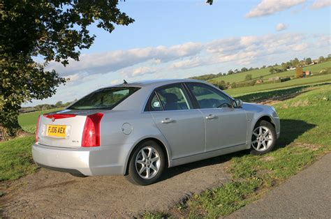 cadillac bls saloon review   parkers