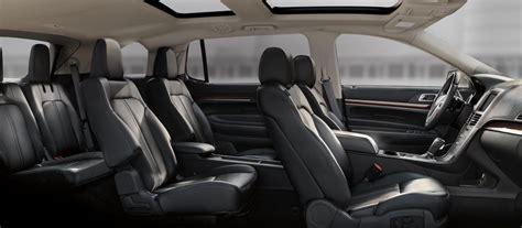 luxury minivan interior 2018 lincoln mkt luxury crossovers and suvs lincoln com