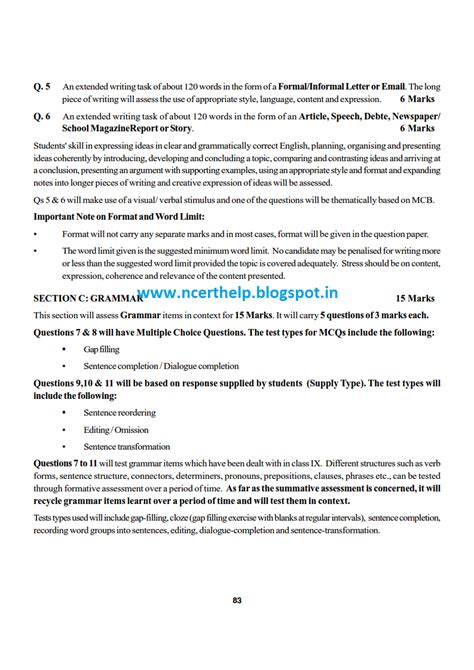 format of email writing for class 10 ncert solutions cbse sle papers and syllabus for class