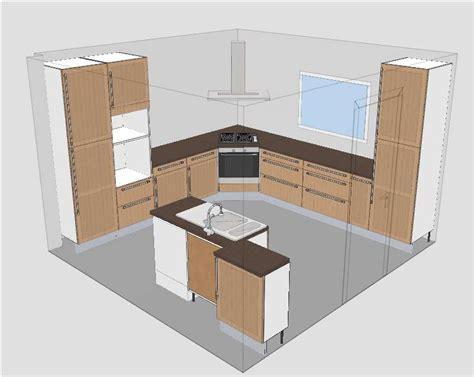 caisson hotte cuisine cuisine ikea tidaholm r 233 alisation caisson angle pour hotte 27 messages forumconstruire