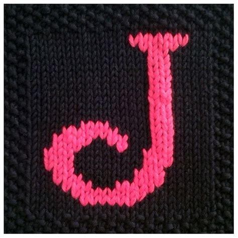 knitting pattern letters alphabet 17 best images about alphabet knitting patterns on