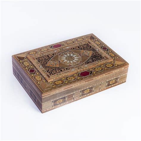 luxury handmade jewelry box large