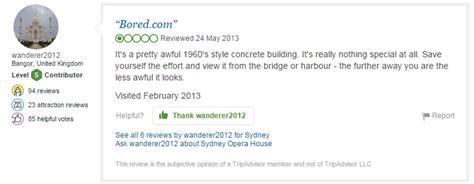 funniest trip advisor reviews  worlds