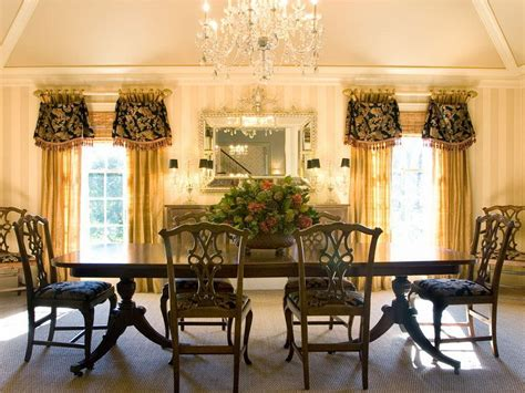 Dining Curtain Designs Inspiration Curtain Ideas For Dining Room Home Interior Design Ideas