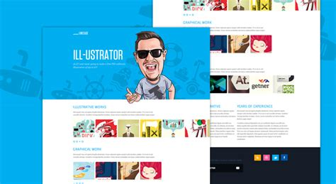 Linecase Portfolio Website Design Template Free Psd Psdexplorer Free Portfolio Website Templates