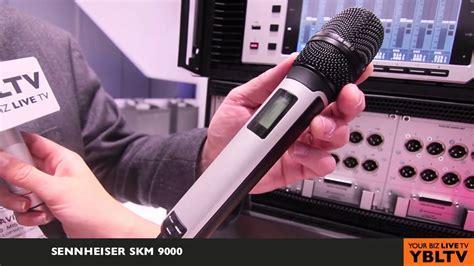 Mic Microphone Wireless Sennheiser Skm 9000 Multi Channel sennheiser s digital 9000 wireless system