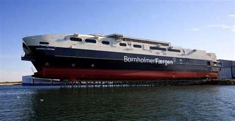 largest catamaran ferry austal splashes a big cat gcaptain a maritime