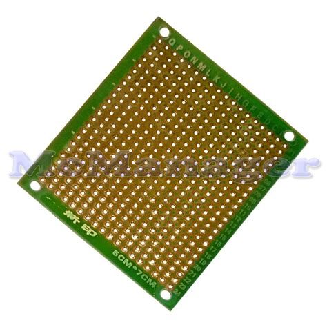 Sale Pcb Lubang Ic Matrix pre drilled copper prototype pcb matrix board printed circuit board ebay