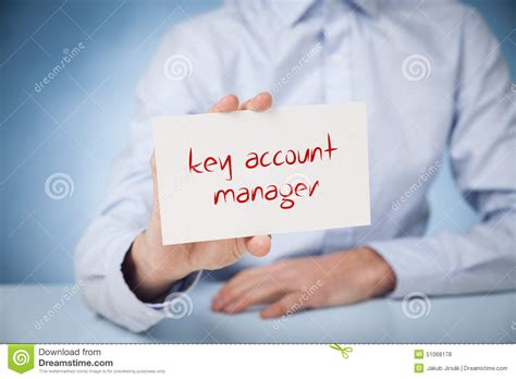 key account manager stock photo image 51068178