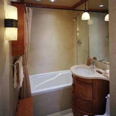 small  simple  big ideas  small bathrooms