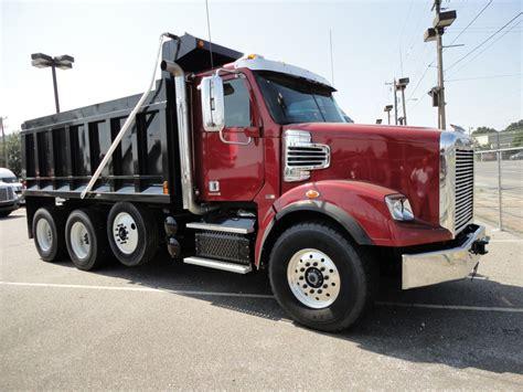 freightliner dump truck dump trucks
