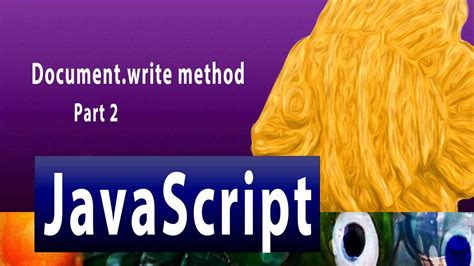 javascript tutorial document write javascript beginners tutorial on the document write method