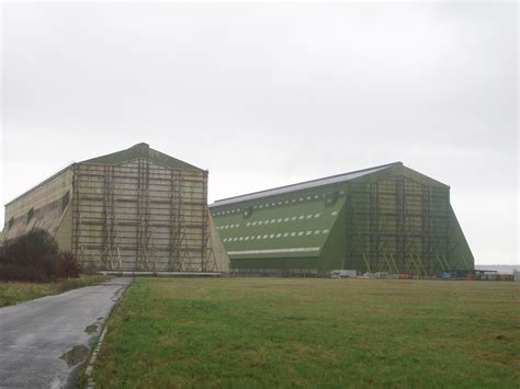 Cardington Airship Sheds cardington airship sheds and hangars bedfordshire