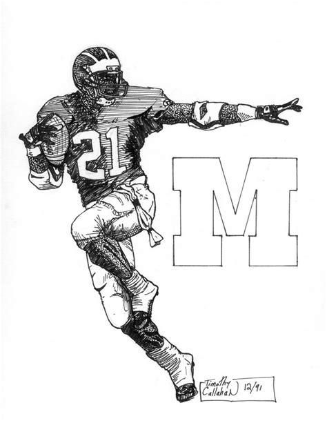 michigan football coloring page michigan football coloring pages free bltidm