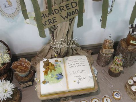 Classic Winnie The Pooh Baby Shower Supplies by Classic Pooh Baby Shower Ideas Photo 3 Of 29