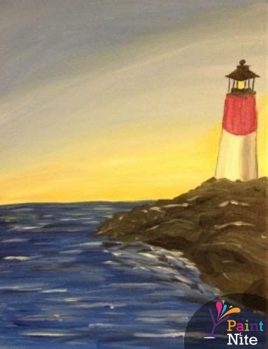 paint nite providence paint nite providence oxford tavern may 28th quot lighthouse
