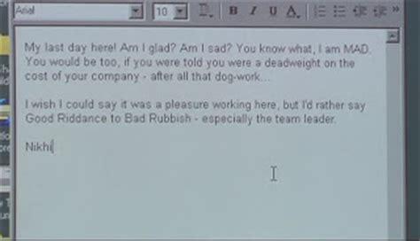 Letter Jokes Resignation Letters