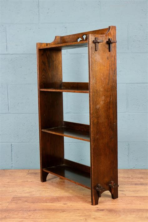 arts and crafts bookcase arts and crafts oak bookcase antiques atlas