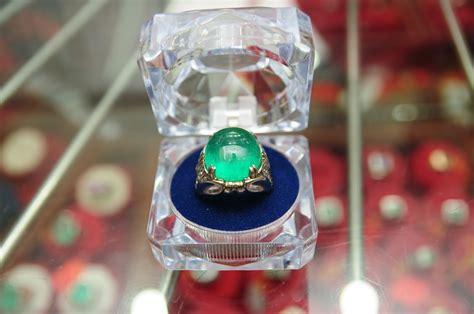 Zamrud Coloumbia Asli Emban Perak zamrud cincin zamrud columbia z38 rm27000