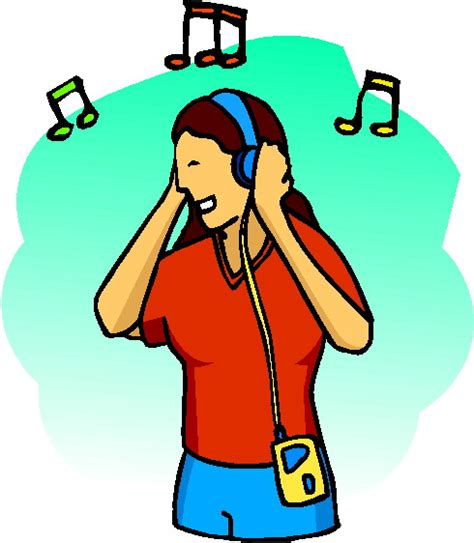 who listens to house music listening to music clip art 2 image 1254