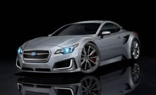 subaru testing mid engine sports coupe news car and