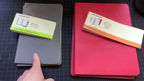 moleskine volant moleskine volant vs cahiers notebook comparison review