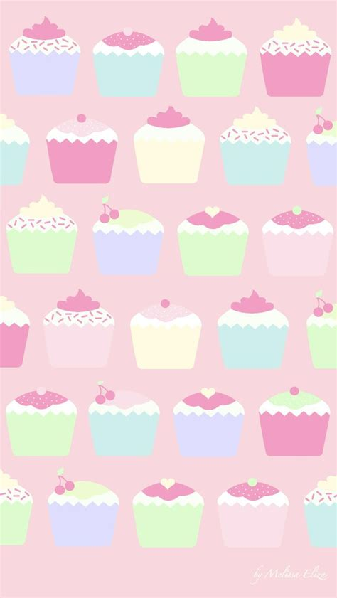 girly cupcake wallpaper cute cupcakes wallpaper wallpapersafari