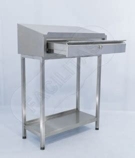 stainless steel shop desk stainless steel shop floor desks for food industry