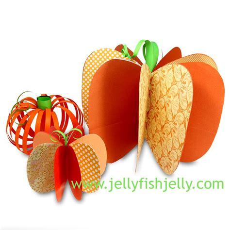 How To Make 3d Paper Pumpkins - 3d paper pumpkin cheaphalloweencrafts craft ideas