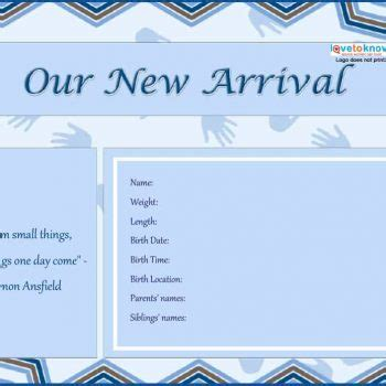 Free Birth Announcement Template by 46 Birth Announcement Templates Cards Ideas Wording