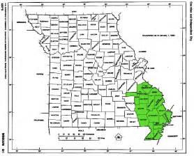 southeast missouri map