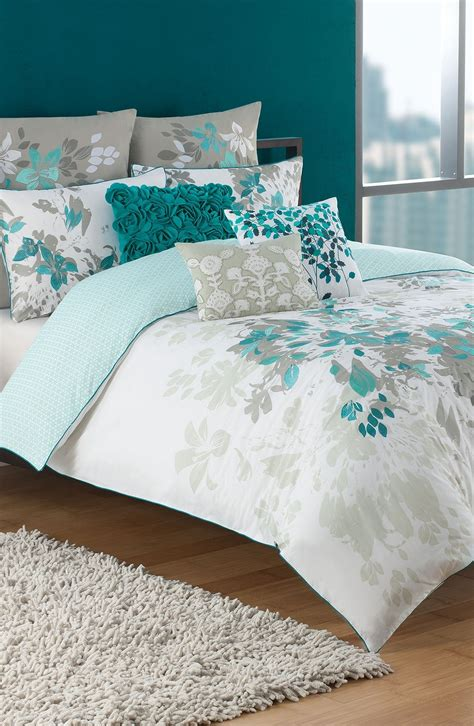 teal and white bedding love this teal white and grey bedding set bedrooms