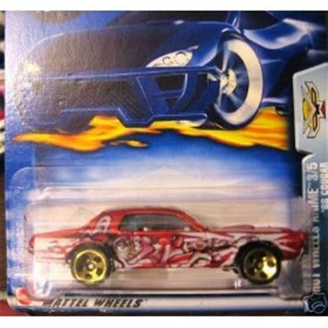 hot wheels anime hot wheels anime 3 5 2003 072 68 cougar 1 64