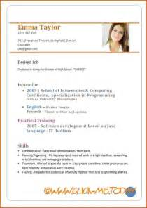 Cv Resume Samples Pdf by Doc Resume