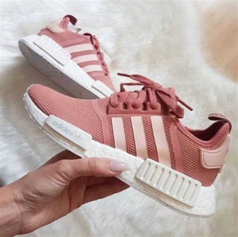 shoes adidas shoes adidas pink shoes pink sneakers pink running shoes pastel salmon