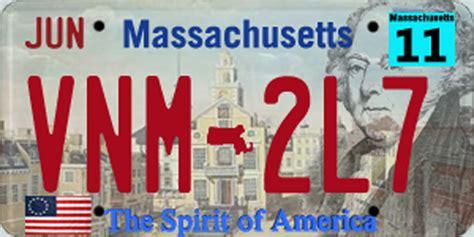 License Plate Lookup Massachusetts Massachusetts License Plate By Acplanb On Deviantart