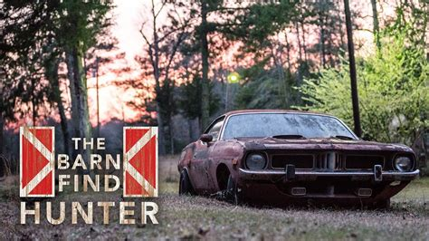 american muscle cars in south carolina barn find hunter