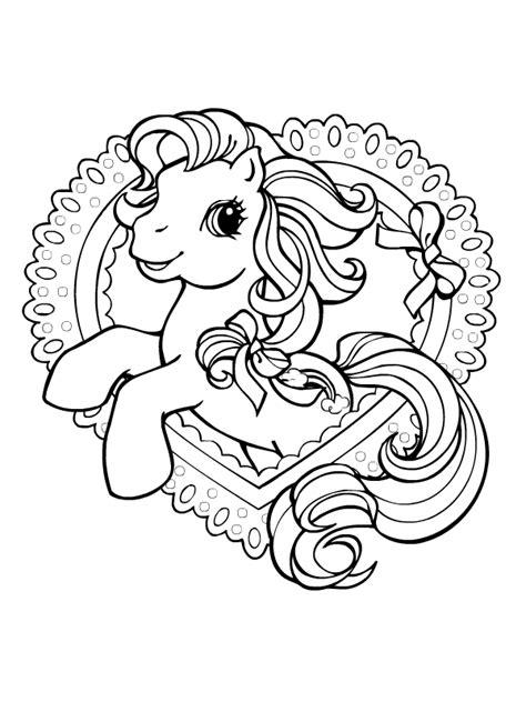 Petit Poney #84 (Dessins Animés) – Coloriages à imprimer