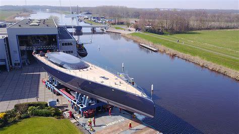 yacht ngoni video mast stepped on 58m royal huisman yacht ngoni