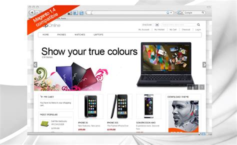 free magento templates 40 free magento themes for your shopping store