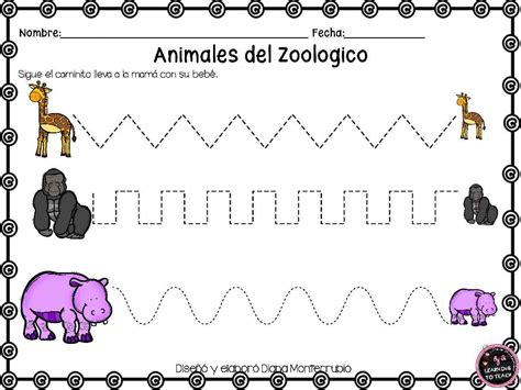 imagenes de animales del zoologico para preescolar actividades animales de zoologico 14 imagenes educativas