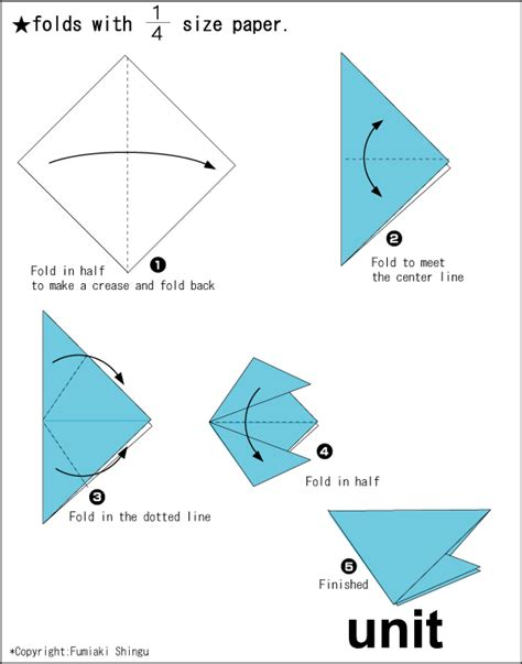 origami unit origami a snail easy origami