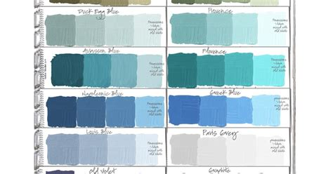 colorways paint color swatch book